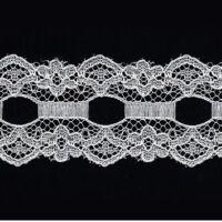 encaje polyester clavelito